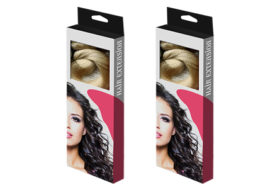 Custom Window Hair Extension Boxes