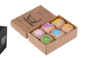 Make your Packaging Glitzier through Custom Bath Bomb Boxes