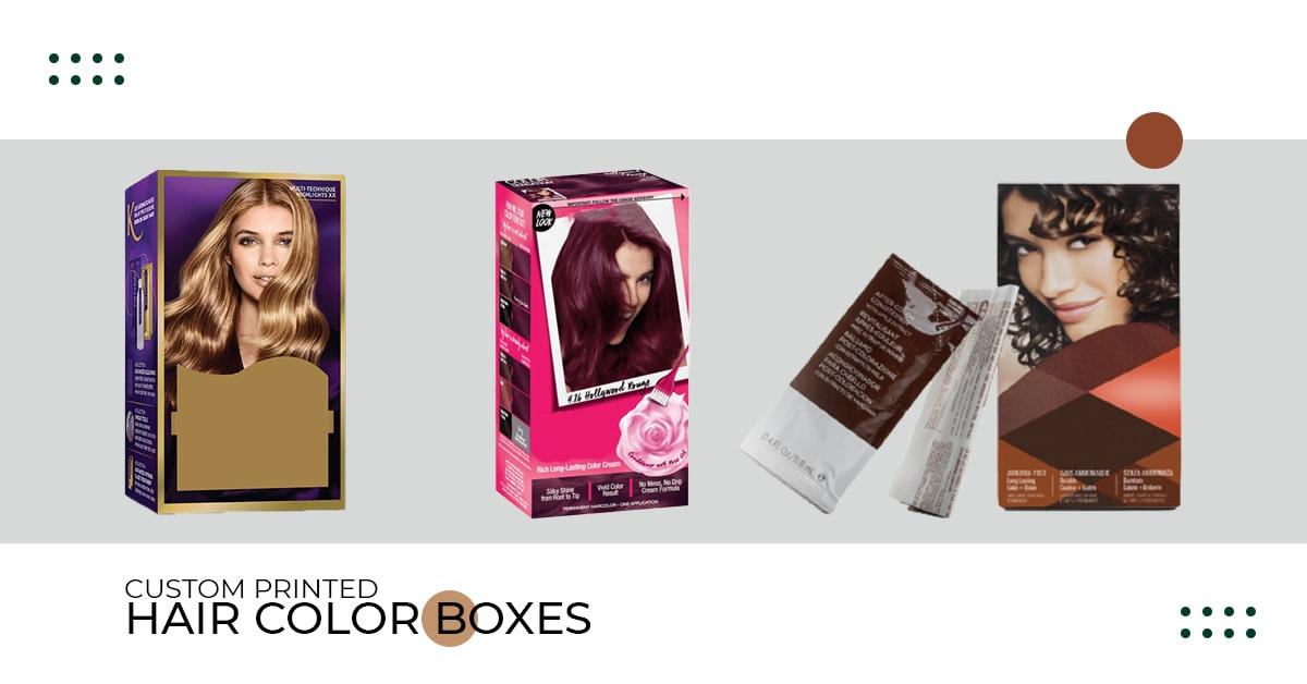Hair Color Boxes