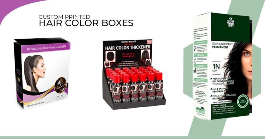 Hair Color Boxes Wholesale